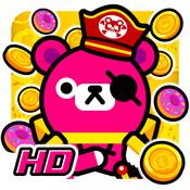 Pirate and Coins - Pinko Bear HD